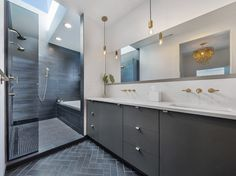 Remodeling your bathroom? Bring your vision and ideas — Kokeena - Doors & Casework for IKEA Cabinets Interior Walls, Bathroom Interior, Modern Bathroom, Master Bathroom, Inside Cabinets, Ikea Cabinets, Tongue And Groove Walls, Custom Cabinet Doors, How To Install Countertops