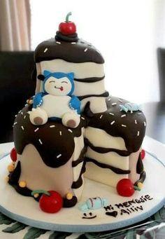 Snorlax Pokemon Cake