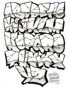 Graffiti Letters AZ | graffiti alphabet letters a-z: