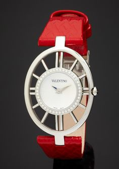 Valentino - Ladies Vanity Watch with Diamonds #Jewelry #Valentino