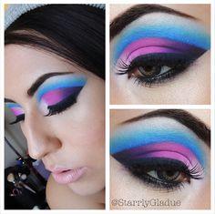 Simplify eye makeup application and learn how to do eye makeup with fail-safe eyeliner tips, expert Love Makeup, Makeup Inspo, Makeup Inspiration, Beauty Makeup, Makeup Looks, Makeup Ideas, Awesome Makeup, Bird Makeup, Bright Makeup