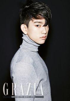 Jr (GOT7)séance photo pour le magazine de mode GRAZIA Korea