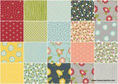 Wallflowers Layer Cake - Allison Harris - Windham Fabrics $35