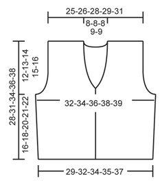"""Evelina / DROPS Children 22-17 - Kurze DROPS Weste mit Krausrippen in """"Nepal"""". Grösse 3 bis 12 Jahre. - Free pattern by DROPS Design"""