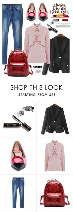 """""""Zaful.com: Always Kiss me Goodnight!"""" by hamaly ❤ liked on Polyvore featuring Bobbi Brown Cosmetics, VIVETTA, Garance Doré, shoes, ootd, dresses, bags and zaful"""
