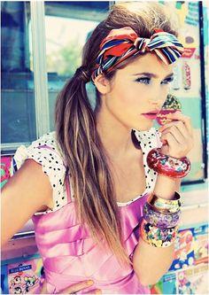 gorgeous head scarf, makeup, modeling, exxomakeup, exxomodels