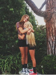 every tall girl need a short best friend @me and hann