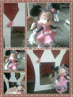 Porta retrato minnie!!