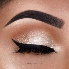 nude eyeshadow glitter eyeshadow