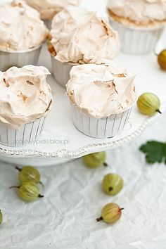 Sweet and Sour Gooseberry Muffins
