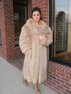 Fox Fur Coa.