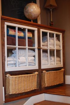 Rustic Country Window Reclaimed Wood Cabinet by thelakenest, $799.00