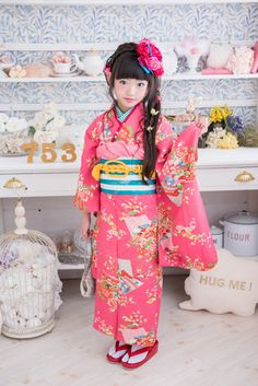 Japanese Kids, Cute Japanese Girl, Cute Korean Girl, Japanese Uniform, Japanese Outfits, Japanese Costume, Japanese Kimono, Dresses Kids Girl, Kids Outfits