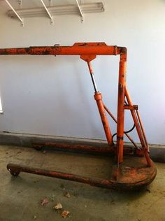 For Sale/Trade: Hydraulic Floor Jack, 1941 Walker Auto ...