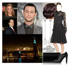 """""""Spending New Year's Eve with her brother Vim and his girldfriend Marie in Stockholm"""" by astridavhessenstein ❤ liked on Polyvore featuring Blue Nile, Dolce&Gabbana and L.K.Bennett"""