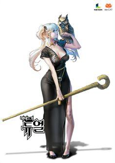 images for anime echi Female Character Concept, Female Character Design, Character Design References, Character Art, Fantasy Art Women, Fantasy Girl, Fantasy Characters, Female Characters, Alita Battle Angel Manga