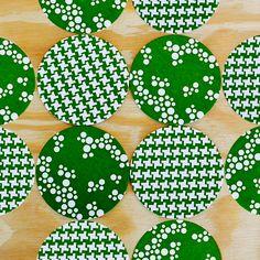 rock scissor paper coasters