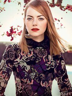 emma stone craig mcdean3 More Photos of Emma Stones Vogue Feature