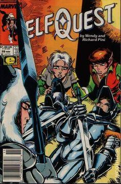 """ElfQuest"" # 28, Marvel edition"