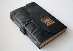 V FOR BOOKS - a bookbinding blog — Magus is a one of a kind blank journal I made out...