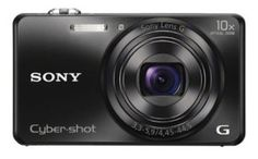 Sony Cyber-shot DSC-WX200/BCE32 18.2MP Point-and-Shoot Digital Camera (Black) with Camera Case