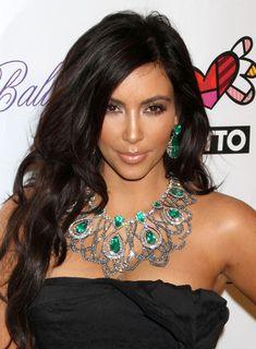 Socialite Kim Kardashian at the 2010 Angel Ball to benefit Gabrielle's Angel Foundation at Cipriani in New York City, NY.