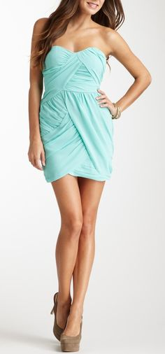 Mint Drape Dress / Keepsake