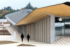Kengo Kuma, pabellones bajo un mismo techo en Lausana (Suiza)