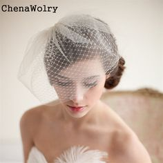 >> Click to Buy << ChenaWolry 1PC Attractive Fashion Accessories Vintage Women Elegant Wedding Bridal Party Birdcage Mesh Face Veil Hair Oct 12 #Affiliate