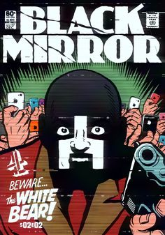 British TV series Black Mirror becomes an old school comic in this illustrated poster series from artist Billy Butcher. Comics Vintage, Vintage Comic Books, Geeks, Ec Comics, The Ancient Magus, Classic Comics, Film Serie, Comic Book Covers, Film Posters