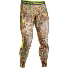 Under Armour 1248044 Mens Medium ColdGear Scent Control Realtree Base Layer for sale online Under Armour Hunting, Under Armour Men, Tactical Wear, Hunting Camo, Under Armour Coldgear, Camo Leggings, Hunting Clothes, Second Skin, Evo