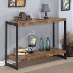 Industrial Console Tables, Modern Console Tables, Sofa End Tables, Metal Furniture, Furniture Decor, Living Room Furniture, Online Furniture, Furniture Outlet, Console Table Living Room