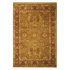 Have to have it. Safavieh Dynasty DY301A Area Rug - Gold/Red $496.99