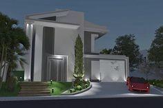 Plano de casa en estilo clásico