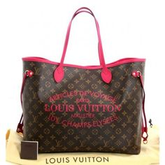 Louis Vuitton Monogram Canvas Indian Rose Neverfull GM- SOLD OUT LIMITED EDITION