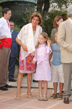 Summer style inspiration - princesses Caroline and Alexandra