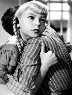 The Bad Seed. 1956 If this child doesn't scare the hell out of you...you need to see this movie.