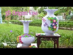 Tran Nga 3D Origami - YouTube