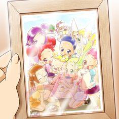 Tags: Fanart, Ojamajo DoReMi, Harukaze Doremi, Senoo Aiko, Fujiwara Hazuki, Segawa Onpu, Asuka Momoko, Harukaze Pop, Makihatayama Hana, Majo...