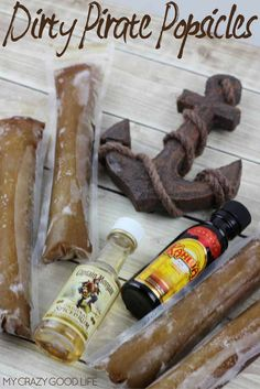 bad time to whip up some boozy popsicles! Dirty Pirate Popsicles ...