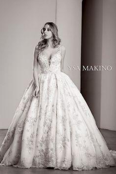 Ysa Makino Wedding Dresses in Glendale - Lovella Bridal Fit And Flare Wedding Dress, Sexy Wedding Dresses, Gorgeous Wedding Dress, Bridal Dresses, Wedding Gowns, Top Wedding Dress Designers, Wedding Dress Gallery, Wedding Dress Boutiques, Dress Picture