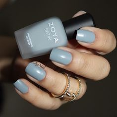 @zoyanailpolish This is Tove, a misty slate grey.