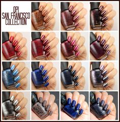 Liquid Jelly: OPI San Francisco Collection Review + Swatches (Fall 2013)
