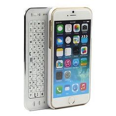 """Ultra-thin Slide-out Bluetooth Wireless Keyboard Case Cover for iPhone 6 4.7"""""""