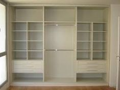 Wardrobe with tv stand california closets bedroom for Closet dormitorio matrimonial