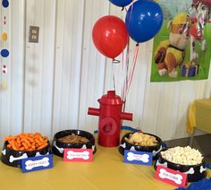 Paw Patrol Birthday Party Decoration, Personalized Paw Patrol Food Cards, Paw Patrol Tent Cards (Set of 4) by LittleMichaels on Etsy https://www.etsy.com/listing/244949565/paw-patrol-birthday-party-decoration