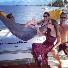 These friends used to live in Florida but jobs and life separated them. They decided to reunite in Vero Beach and on their to do list was to take a Sunset Sail Indian River Lagoon, Friends Reunited, Vero Beach Florida, Sailing Catamaran