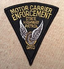 Ohio State Highway Patrol Motor Carrier Enforcement Patch