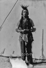 Blackfoot dancer at Ft. Macleod in Alberta