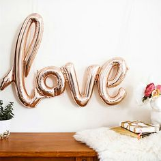 1 Set Love Letters Balloon Wedding Party Proposal Engagement Valentines